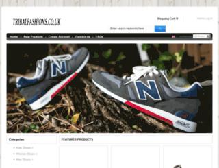 tribalfashions.co.uk screenshot