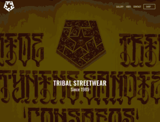 tribalgear.com screenshot