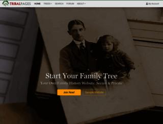 tribalpages.com screenshot
