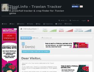 tribalwars-fr.ttool.info screenshot