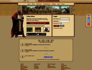 tribalwars.net screenshot