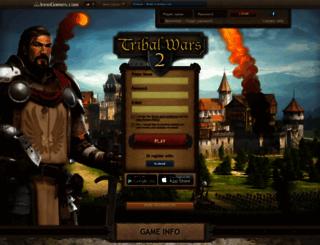 tribalwars2.com screenshot