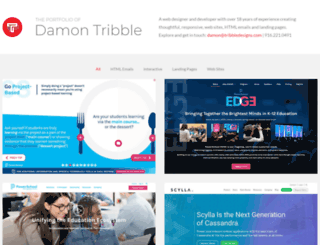 tribbledesigns.com screenshot