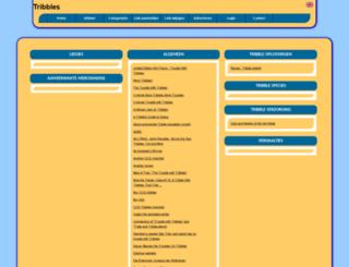 tribbles.allepaginas.nl screenshot