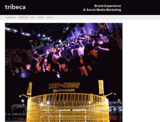tribeca.fr screenshot