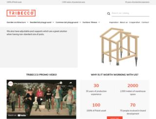 tribecco.pl screenshot