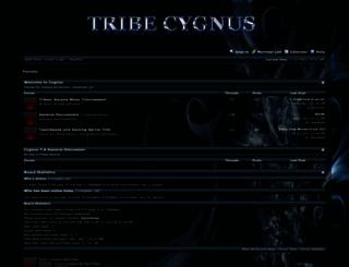 tribecygnus.net screenshot