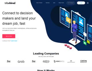 tribehired.com screenshot