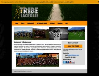 tribelacrosse.leagueapps.com screenshot