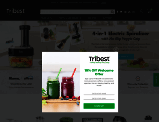 tribest.com screenshot