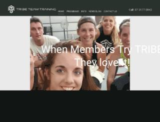 tribeteamtraining.com.au screenshot