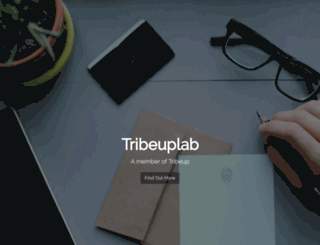 tribeuplab.com screenshot
