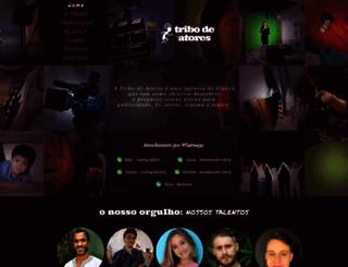 tribodeatores.com.br screenshot