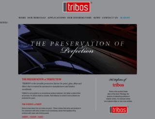 triboscoatings.com screenshot