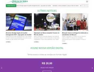 tribunadaserra.com.br screenshot