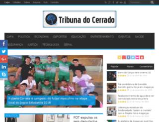 tribunadocerrado.com.br screenshot