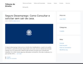 tribunadodireito.com.br screenshot