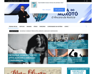 tribunadomoxoto.com screenshot