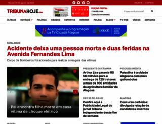 tribunahoje.com screenshot