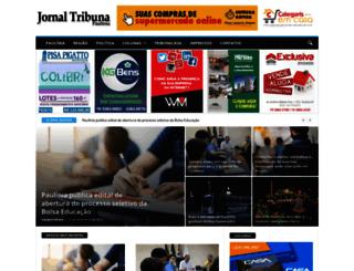 tribunapaulinia.com.br screenshot