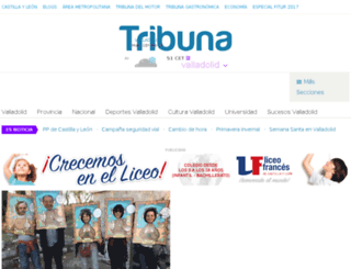 tribunavalladolid.com screenshot