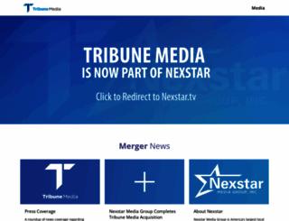 tribunemedia.com screenshot
