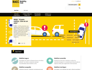 tribunes.racc.cat screenshot