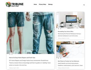 tribunesmarthome.com screenshot