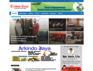 tribunriau.com screenshot