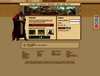 triburile.ro screenshot