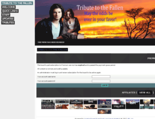 tributetothefallen.jcink.net screenshot