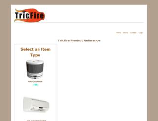 tricfire.com screenshot