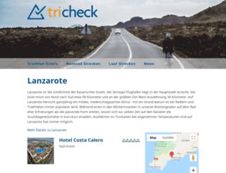 tricheck.de screenshot