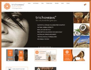trichovedic.com.au screenshot