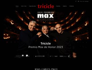 tricicle.com screenshot