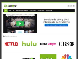trickbyte.com screenshot