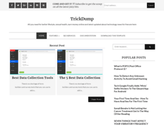 trickdump.blogspot.com screenshot