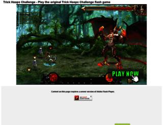 trickhoopschallenge.com-freegame.info screenshot