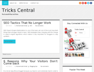 trickscentral.com screenshot