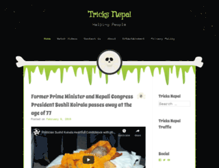 tricksnepal.wordpress.com screenshot