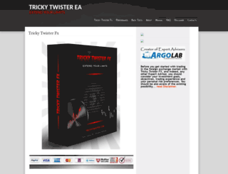 trickytwister.com screenshot