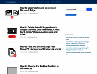 trickyways.com screenshot