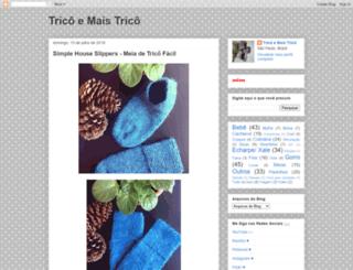 tricoemaistrico.blogspot.com.br screenshot