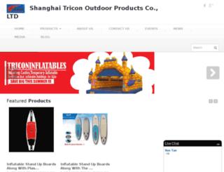 triconinflatables.com screenshot