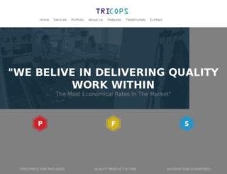 tricops.com screenshot