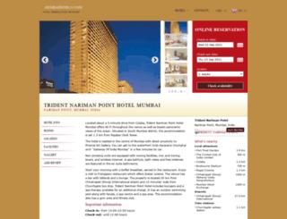 trident-nariman-point.mumbaihotel24.com screenshot