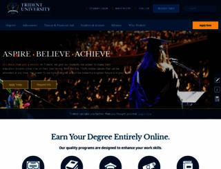 trident.edu screenshot