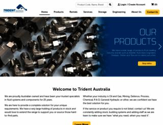 tridentaustralia.com.au screenshot