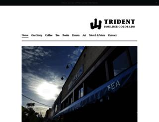 tridentcafe.com screenshot
