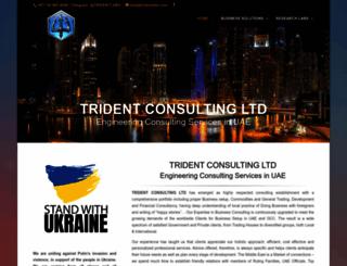 tridentdxb.com screenshot